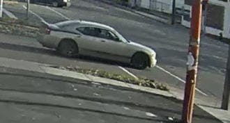 The Detroit Police Department is seeking the public's assistance in identifying and locating a suspect and vehicle wanted in connection to a double shooting that occurred on the city's eastside.