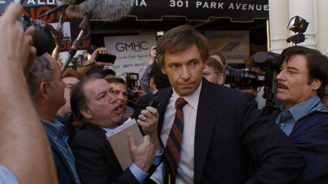 """Hugh Jackman in """"The Front Runner."""""""