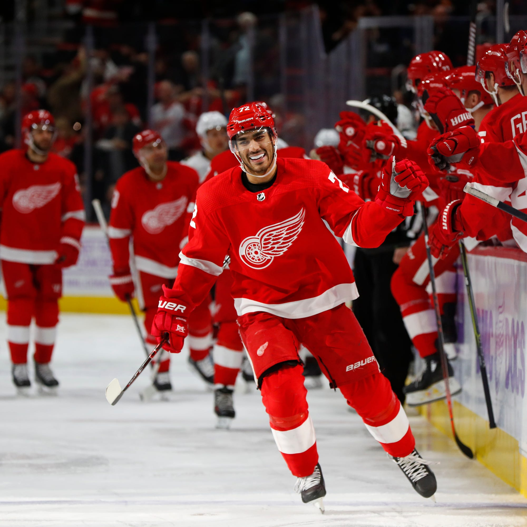 Krupa: Budding stars are lifting Red Wings to new heights