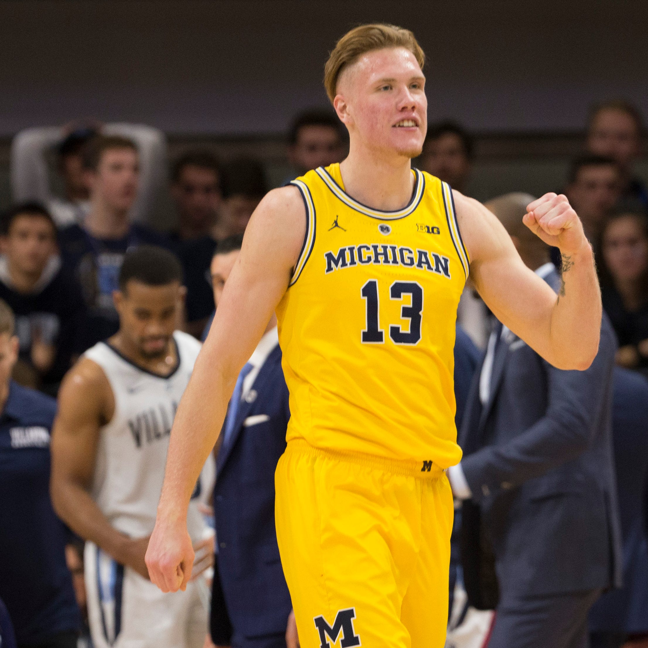 UM's Brazdeikis makes most of 'shining moment'