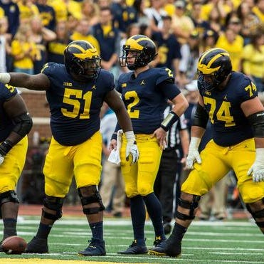 Warinner fixes Michigan's O-line from the head down