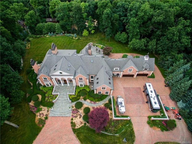 MI Dream Home: Ex-Czech consulate in Northville lists for $9.9M