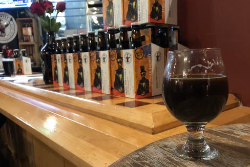 Atwater Brewing on Thursday released its first-ever barrel-aged imperial stout, Barrel- Aged VJ Black, based at least in part on its longtime stalwart porter.
