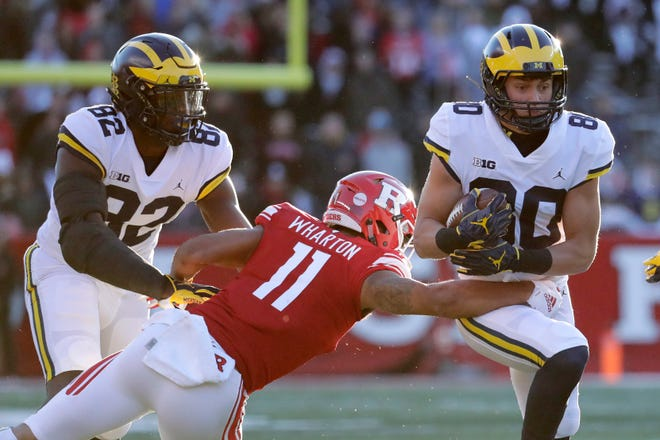 Oliver Martin and the Michigan Wolverines host Indiana in their final home game of 2018.