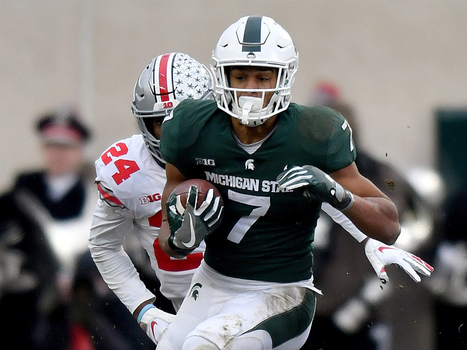 Injuries take toll on Michigan State's fleet of wide receivers