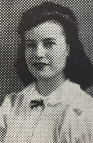 Dorlee Deane McGregor, later known professionally as Katherine MacGregor, grew up in Fort Collins and attended Fort Collins High School. She's pictured here, in 1942, as a junior.