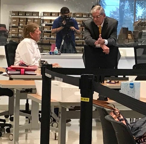 Sorting error delays Lee County manual recount by more than a day