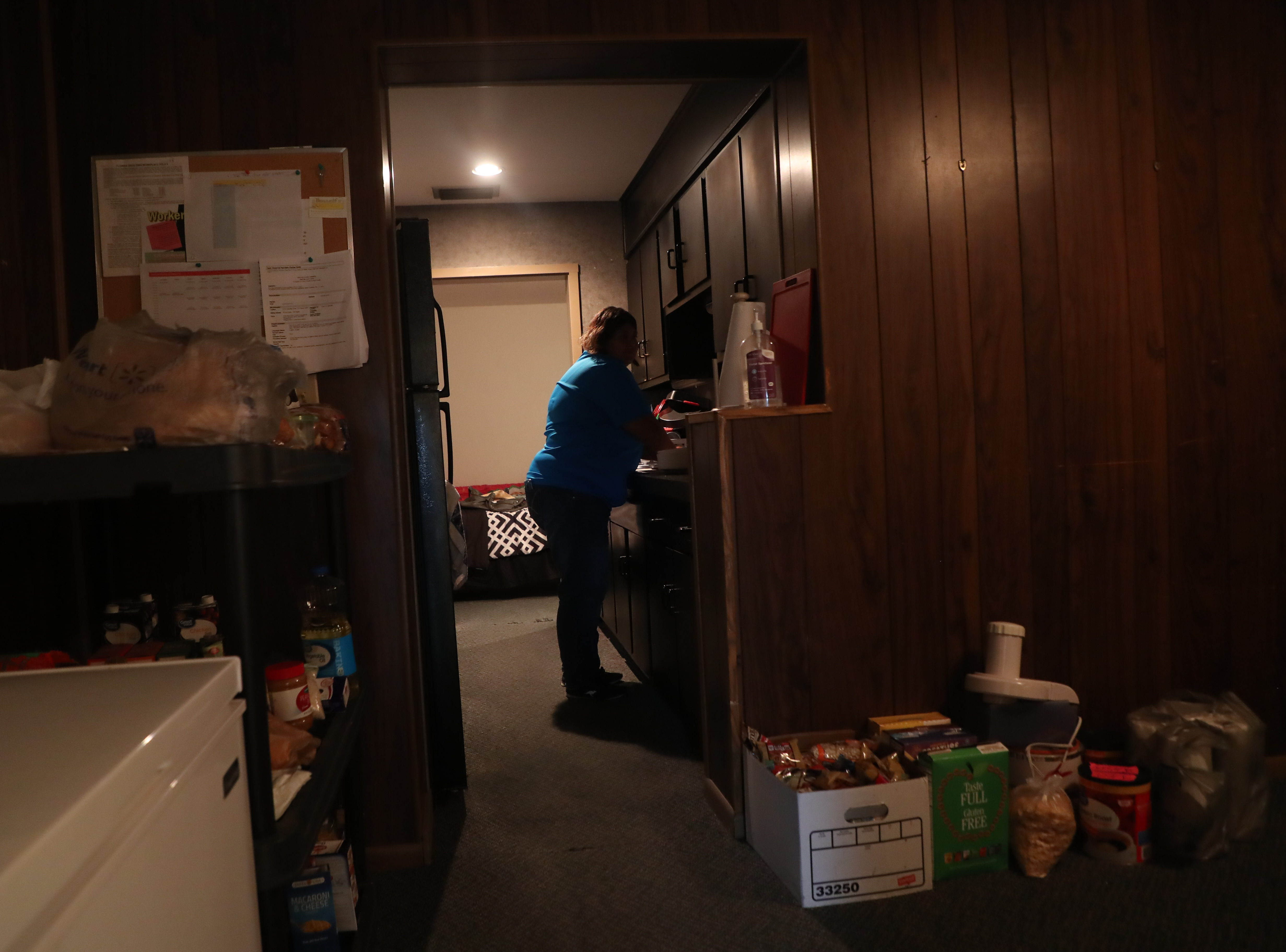 A peek inside Recovering Lives sober home in Fort Myers. Recovering Lives is a home for those overcoming substance abuse addiction. Right now the home houses 9 women. That will expand in the near future.