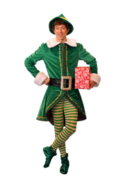 "Chris Duir stars as Buddy in Broadway Palm's ""Elf the Musical"""