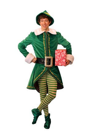 """Chris Duir stars as Buddy in Broadway Palm's """"Elf the Musical"""""""