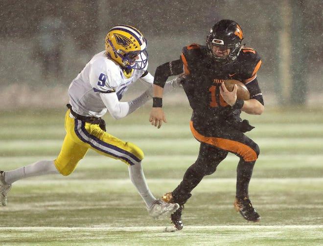 West De Pere sophomore quarterback Josh Blount has been vital to the Phantoms' offense this season.