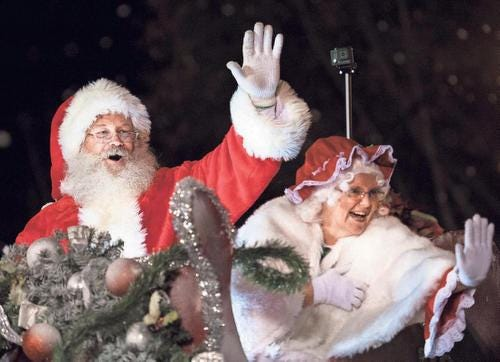 The Greenville Poinsettia Christmas Parade will be held Dec. 1.