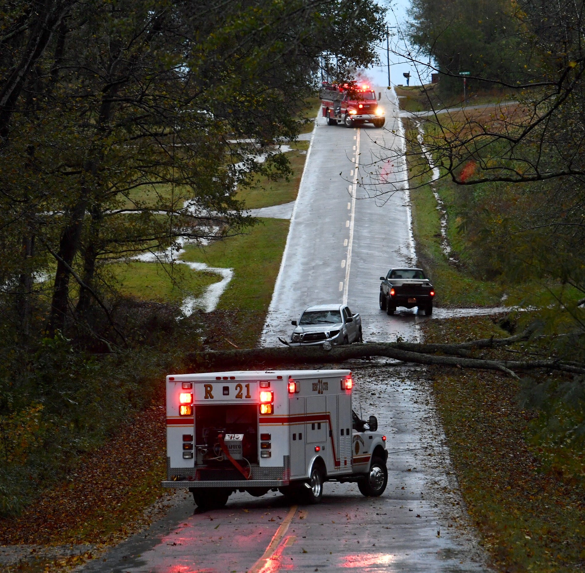 Anderson Weather: Flooding, outages reported across the area