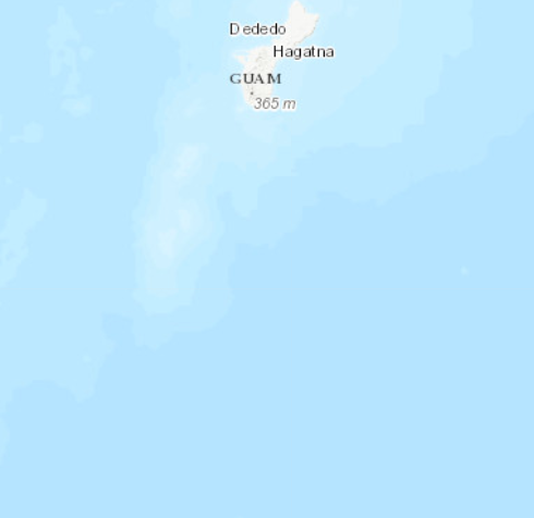 4.8 earthquake recorded near Guam