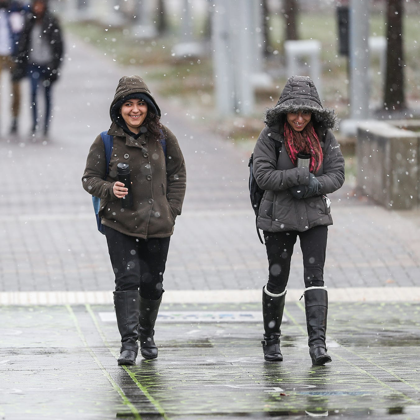 Indianapolis weather: Snow starting to fall; How rain, extreme cold will impact salt on roads
