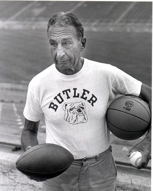 Tony Hinkle was a three-sport coach.