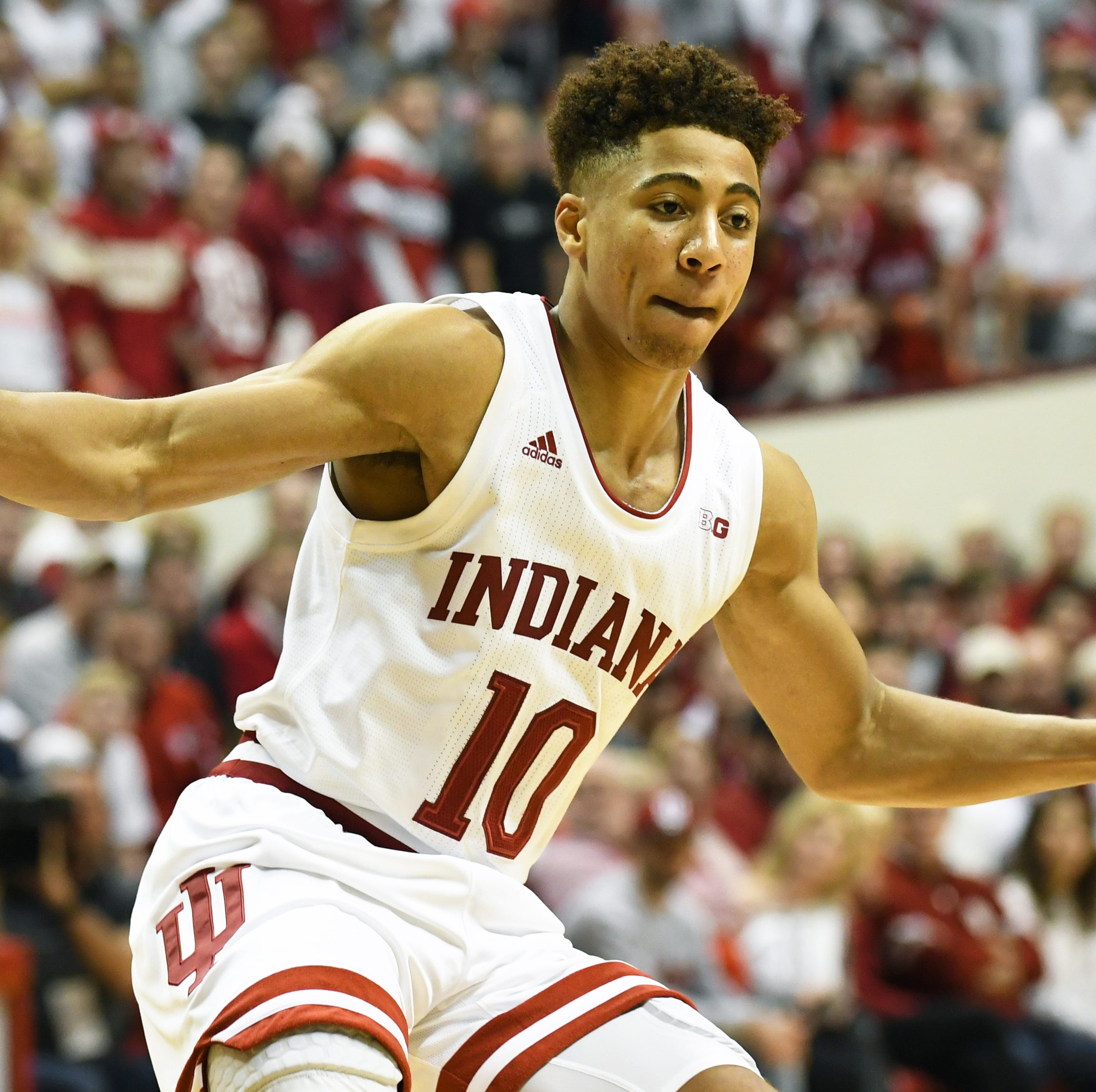 Perhaps overlooked in IU's recruiting class, Rob Phinisee quickly making PG spot his own