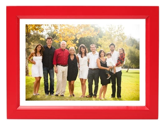 Time for a family portrait?  Get a free photo session AND 50% off photo purchase.