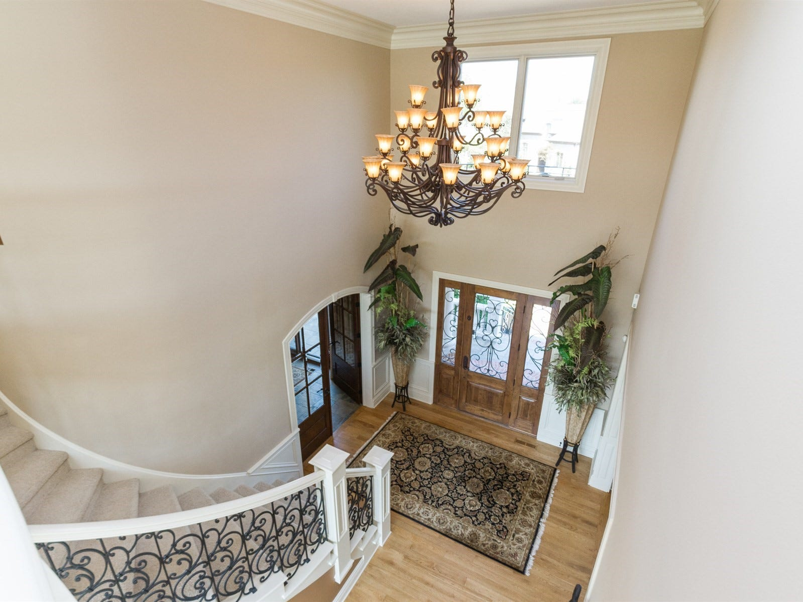 View of the foyer