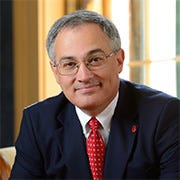Larry Sparks, the finance chief at the University of Mississippi, will serve as interim chancellor when Jeffrey Vitter steps down.