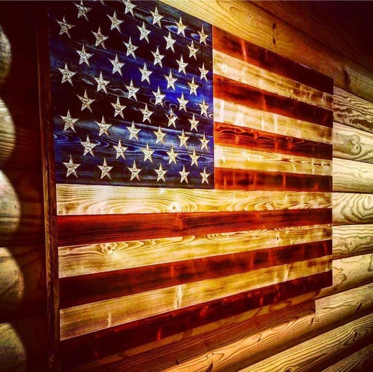 The Rustic Flag Company, founded in 2014, creates hand-crafted wooden American flags. The company saw popularity of their product skyrocket early, but is now struggling to keep up with backlogged orders.