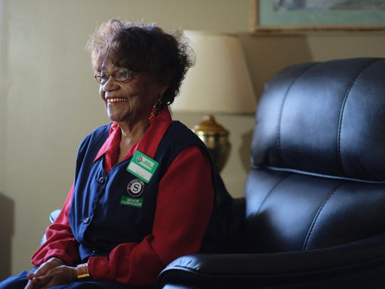 Senior Companion and Senior Corps member Peggy Davis has been serving in the program for 21 years.