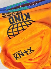 """""""With each shirt design for Positively Knox, we plan to showcase a Knoxville-area landmark """"built"""" by encouraging and uplifting words,"""" said Ryan Willis. """"Our hope is that others focus on the words that truly build a positive community, and that these local landmarks will serve as a reminder to the power of positivity."""