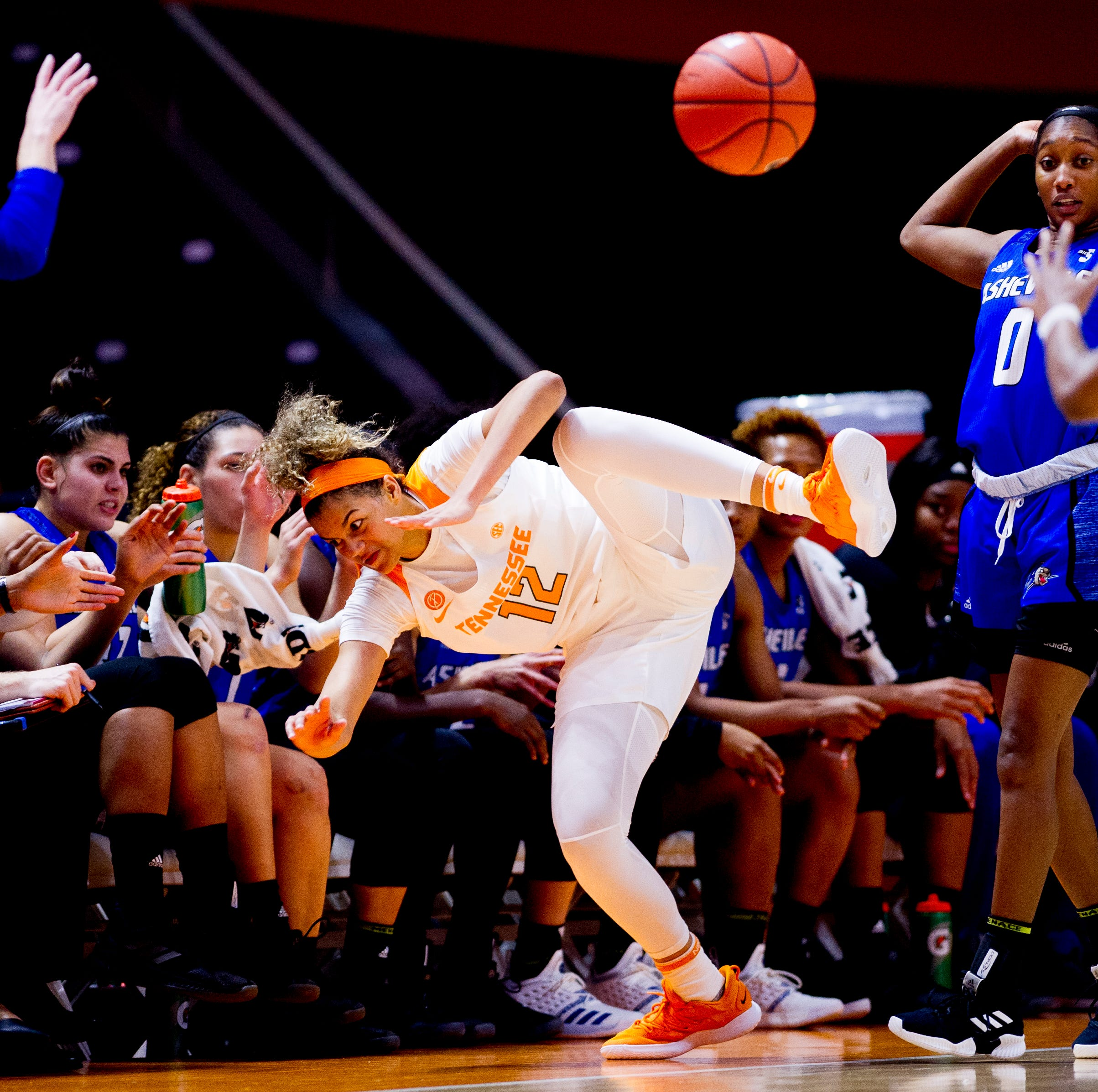 Lady Vols: Strong first half covers for second-half struggles in win over UNC Asheville