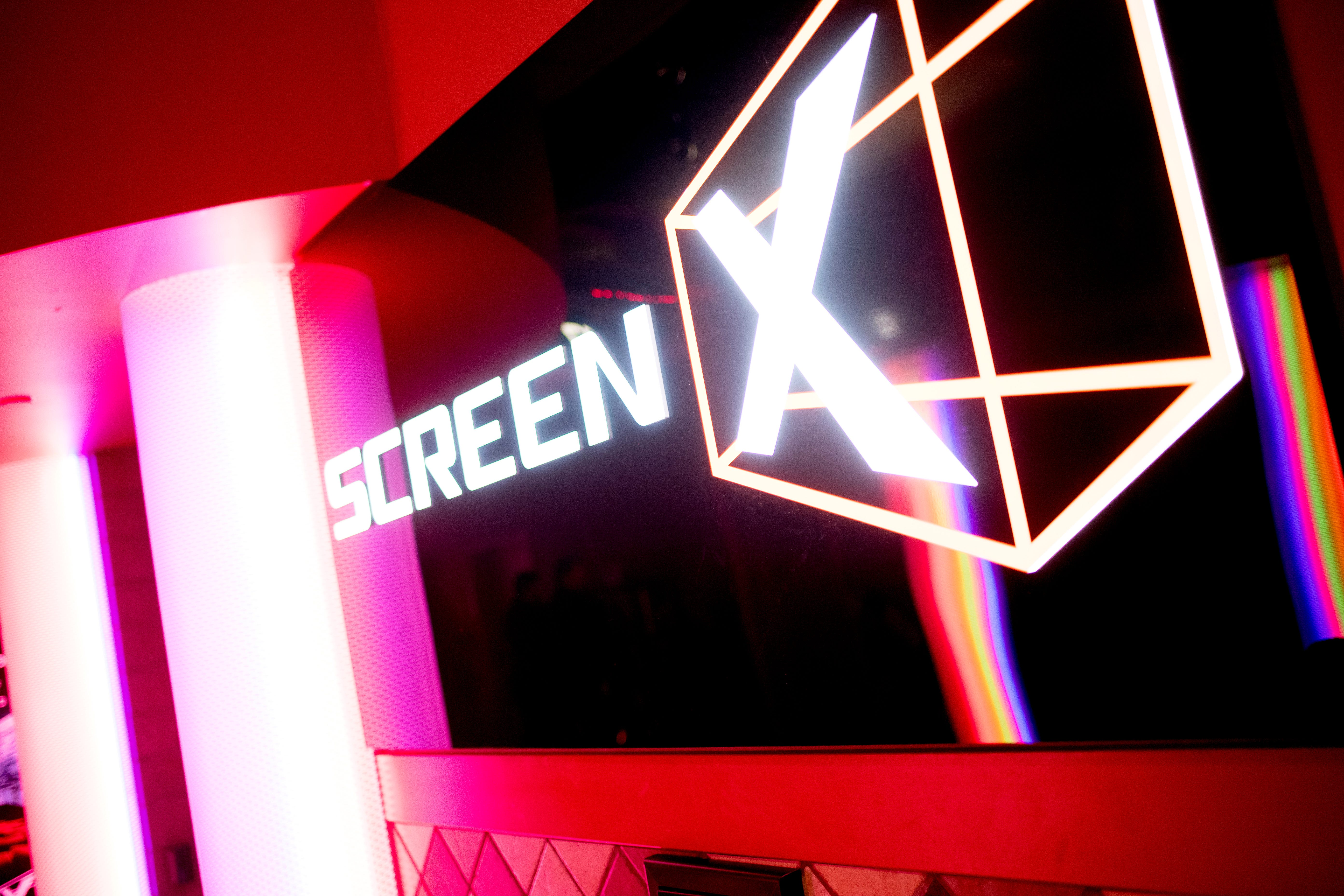 Experience Regal's new 270-degree screen technology ScreenX