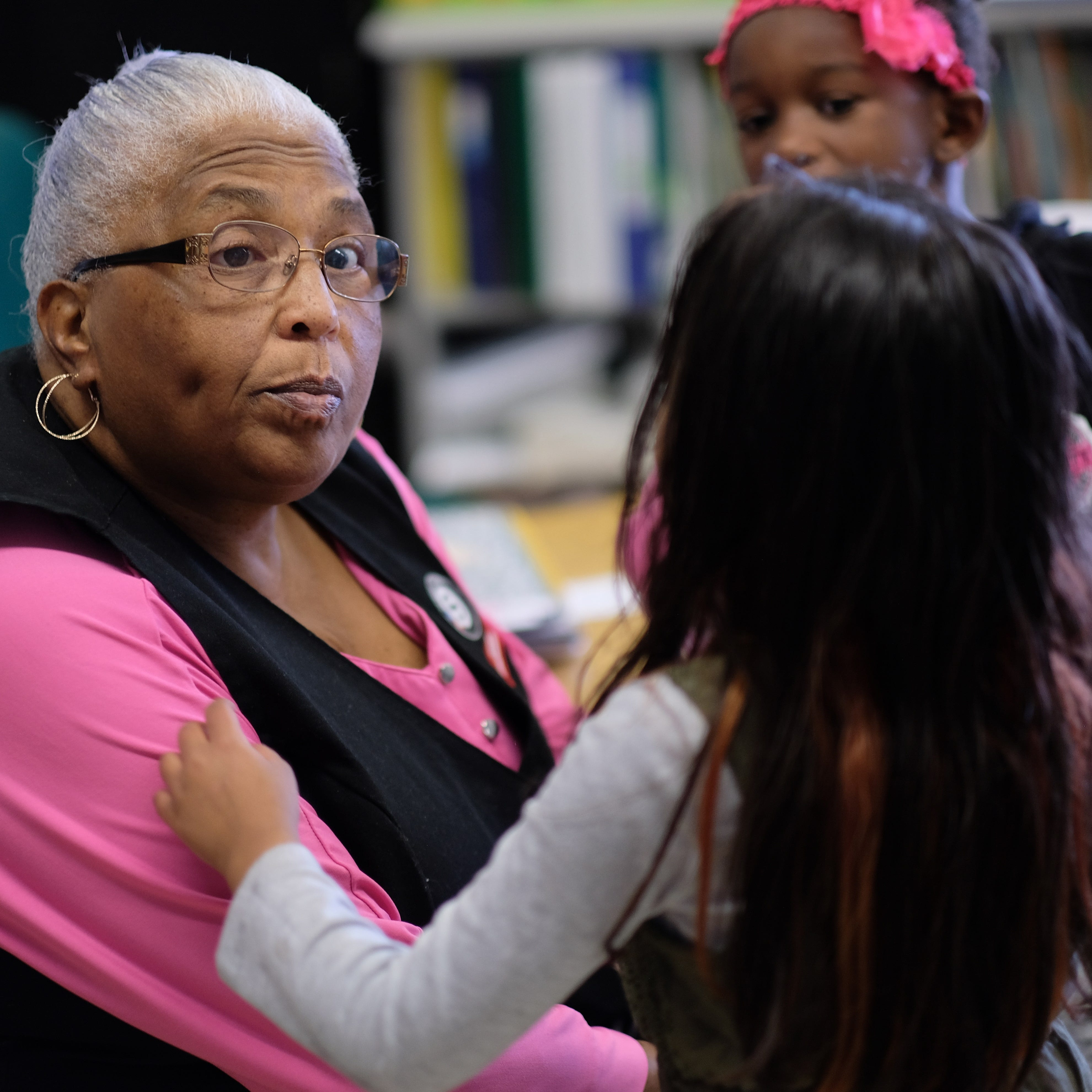 Empty Stocking Fund: Sisters act as 'foster grannies,' giving extra hands, hugs at school