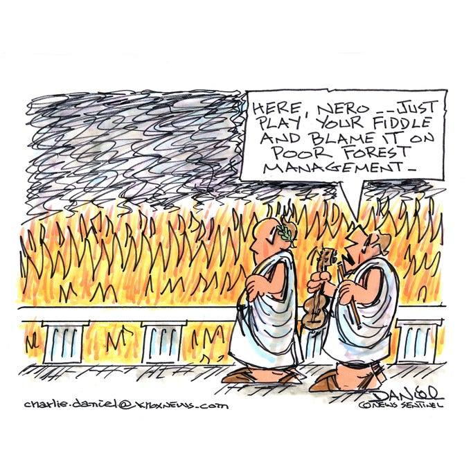 Charlie Daniel editorial cartoon for Friday, Nov. 16, 2018.
