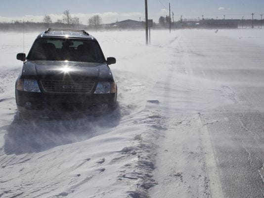 Local police agencies reported very few problems with the morning's icy commute.