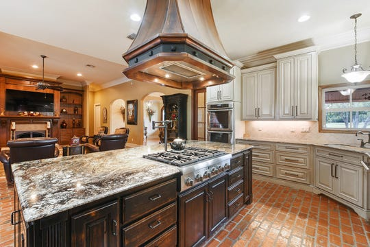 The gourmet kitchen is perfect for any chef.