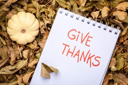 Give Thanks Handwriting