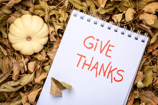 Give Thanks Handwriting