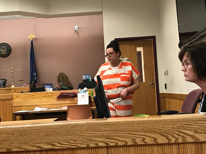 Karen Lockwood, 20, was sentenced to a year in jail and three years probation by Livingston County Judge Michael Hatty on Thursday, Nov. 15, 2018.