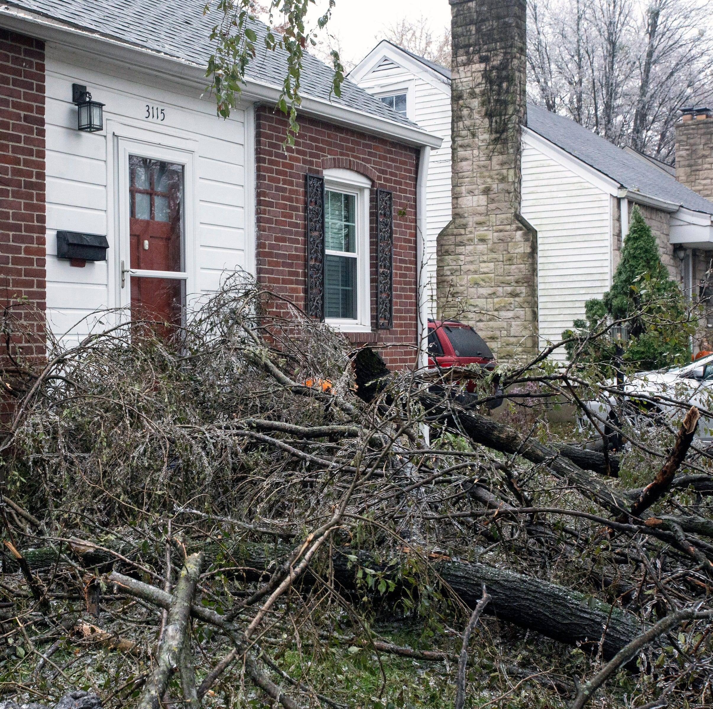 What we know about Louisville power outages: closures, shelters, roads