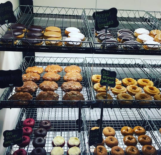 A selection of Groovy Donuts now at Horrocks in Delta Township.