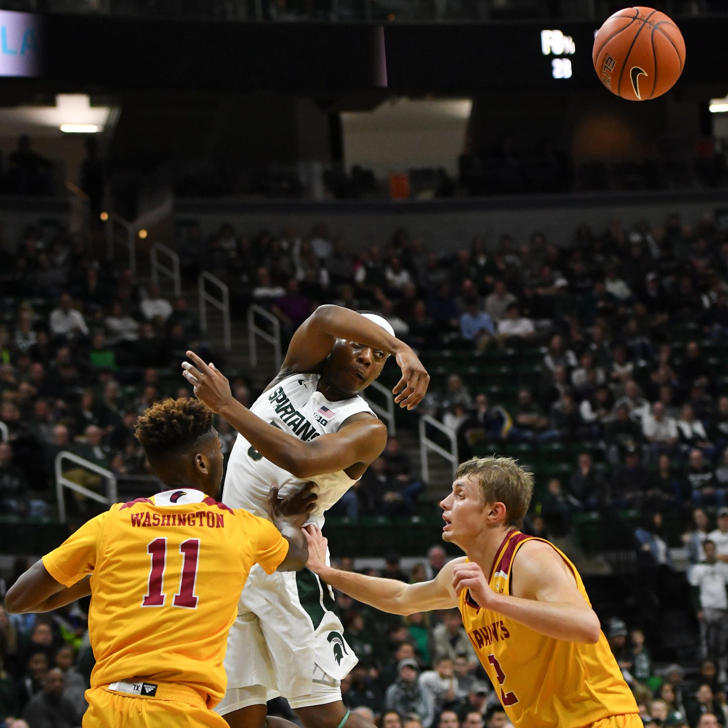 Michigan State basketball suffers setback in 80-59 win vs. Louisiana Monroe