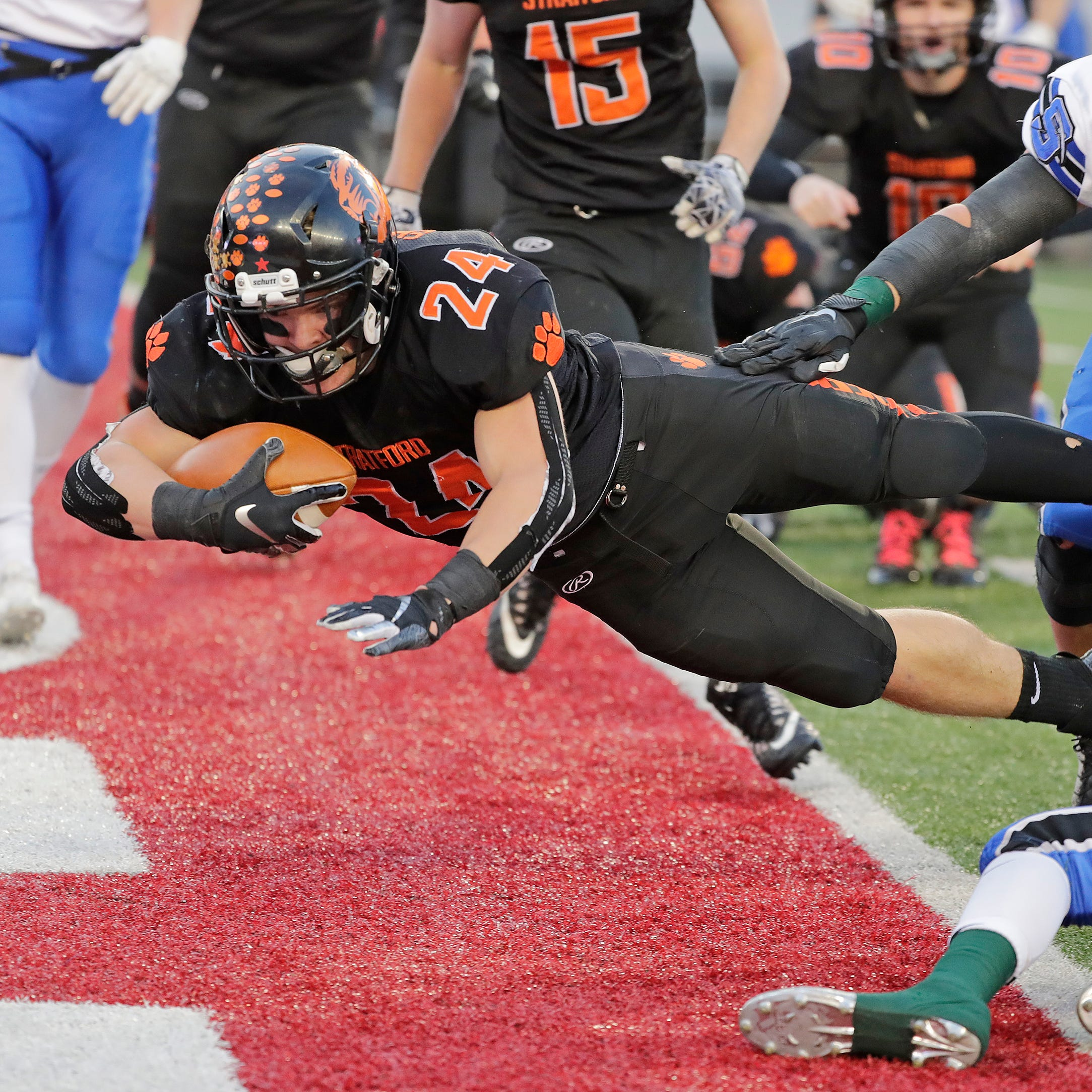 WIAA state football: Stratford falls to St. Mary's Springs in Division 5 title