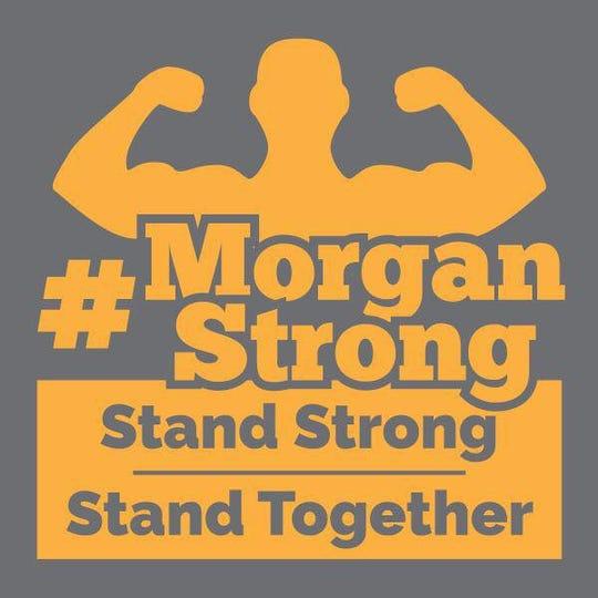 Symbol of #MorganStrong.