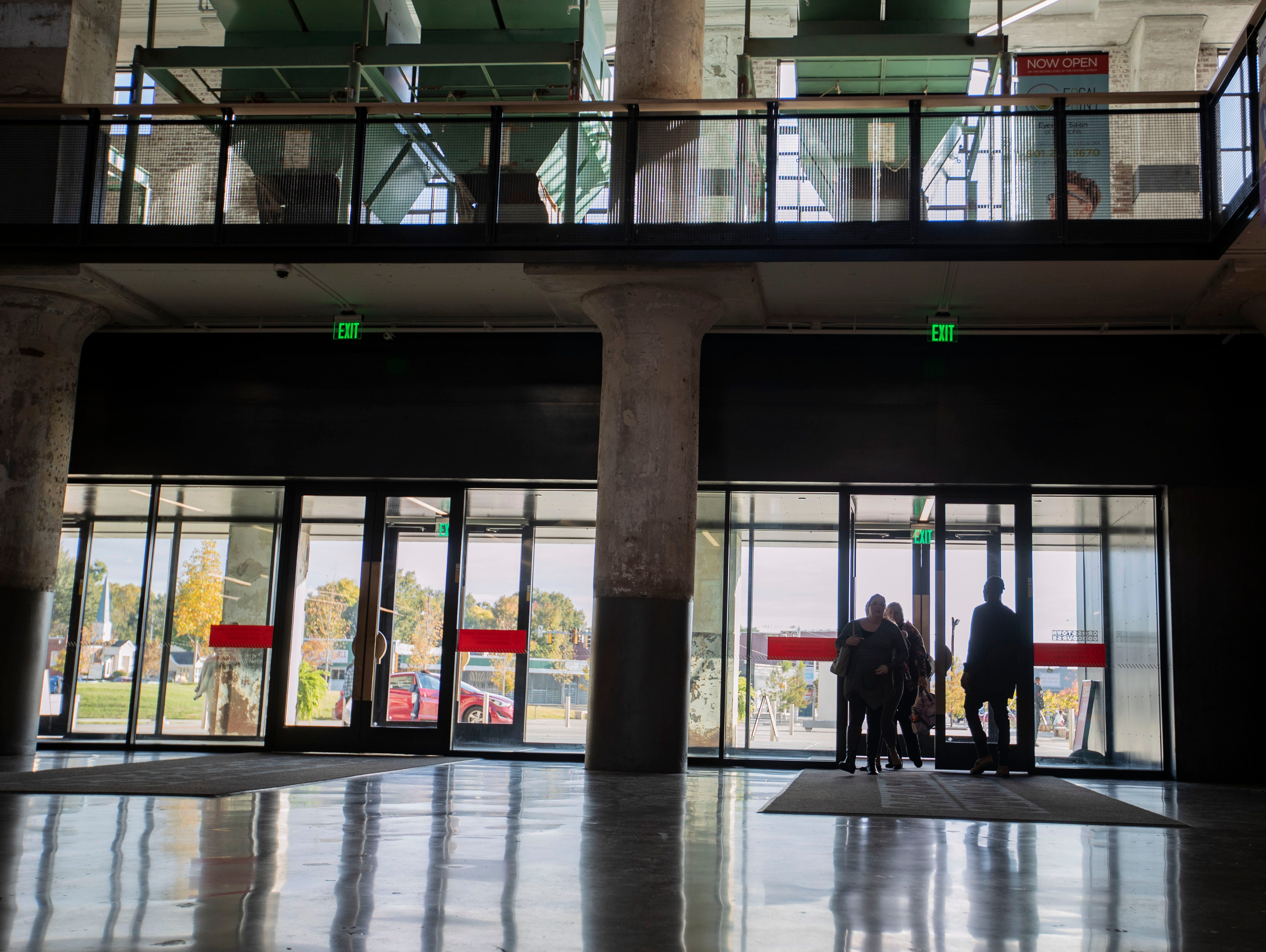 Crosstown Concourse is a 1.5 million-square-foot mixed-use space that holds a high school, apartments, office spaces, retail stores, a pharmacy, coffee shop, art galleries and much more.