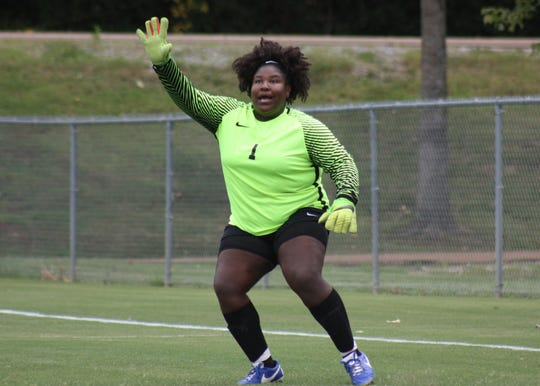 Northwest Mississippi Community College goalkeeper Angel Hailey finished her Ranger career as the school's leader in saves.