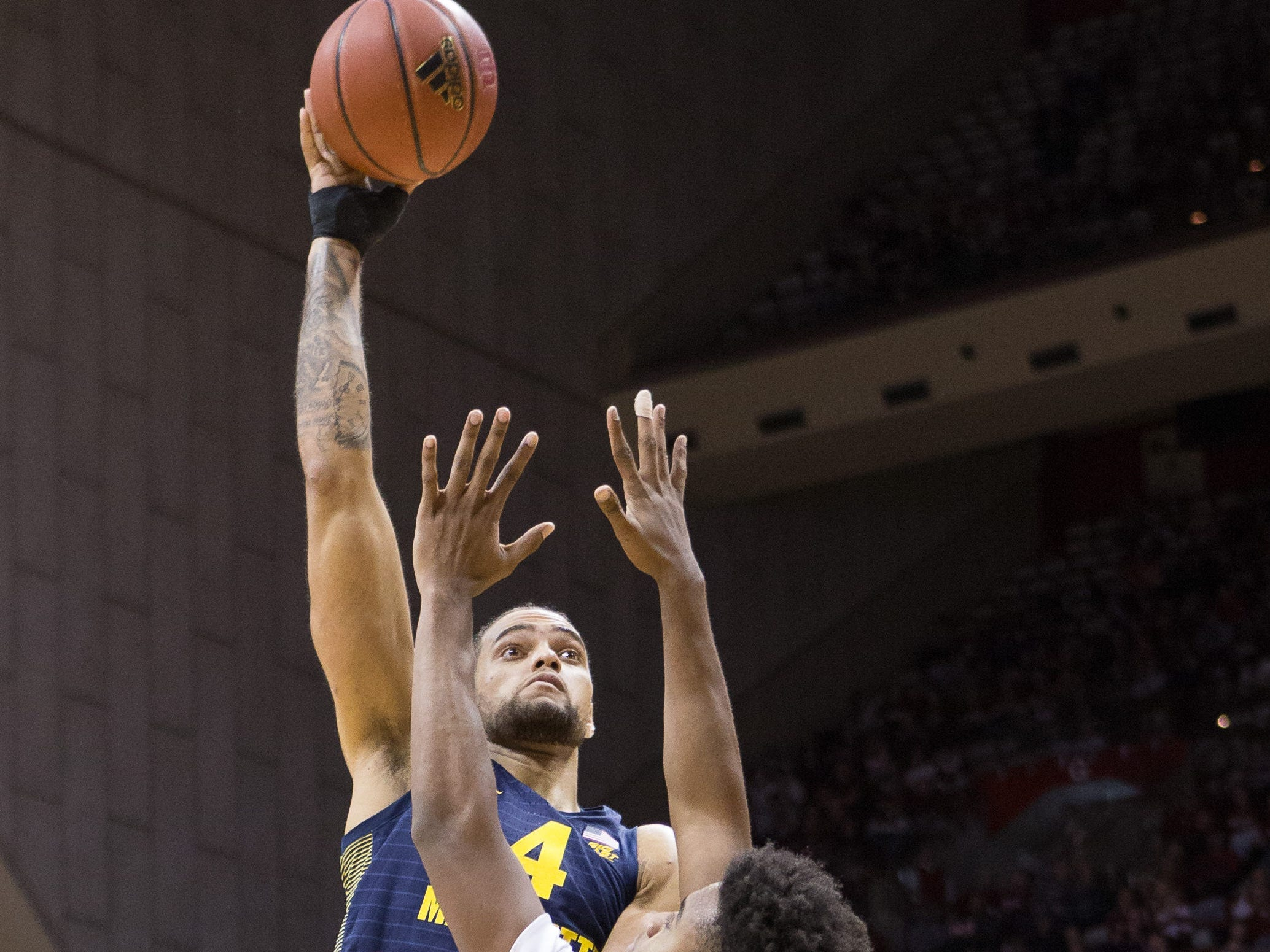 Marquette looking for more production from big men