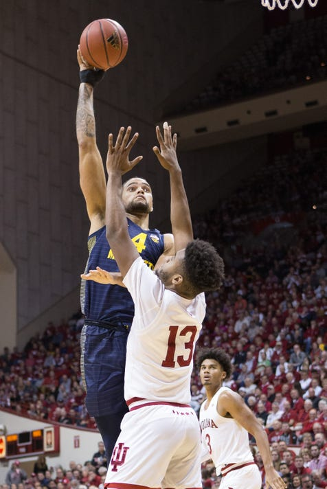 Ncaa Basketball Marquette At Indiana