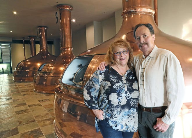 Deb and Dan Carey started New Glarus Brewing Co. in 1993. After being sued by three investors earlier this year, Deb Carey is now suing the investors' lawyers for defamation.