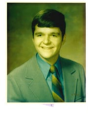 The future Nevada governor-elect Steve Sisolak smiles for a class picture.  As a youngster, he attended Longfellow Middle School and graduated from Wauwatosa West High School in 1972.