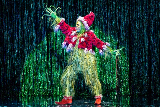 """The Marcus Center hosts """"The Grinch Who Stole Christmas"""" through Nov. 25."""