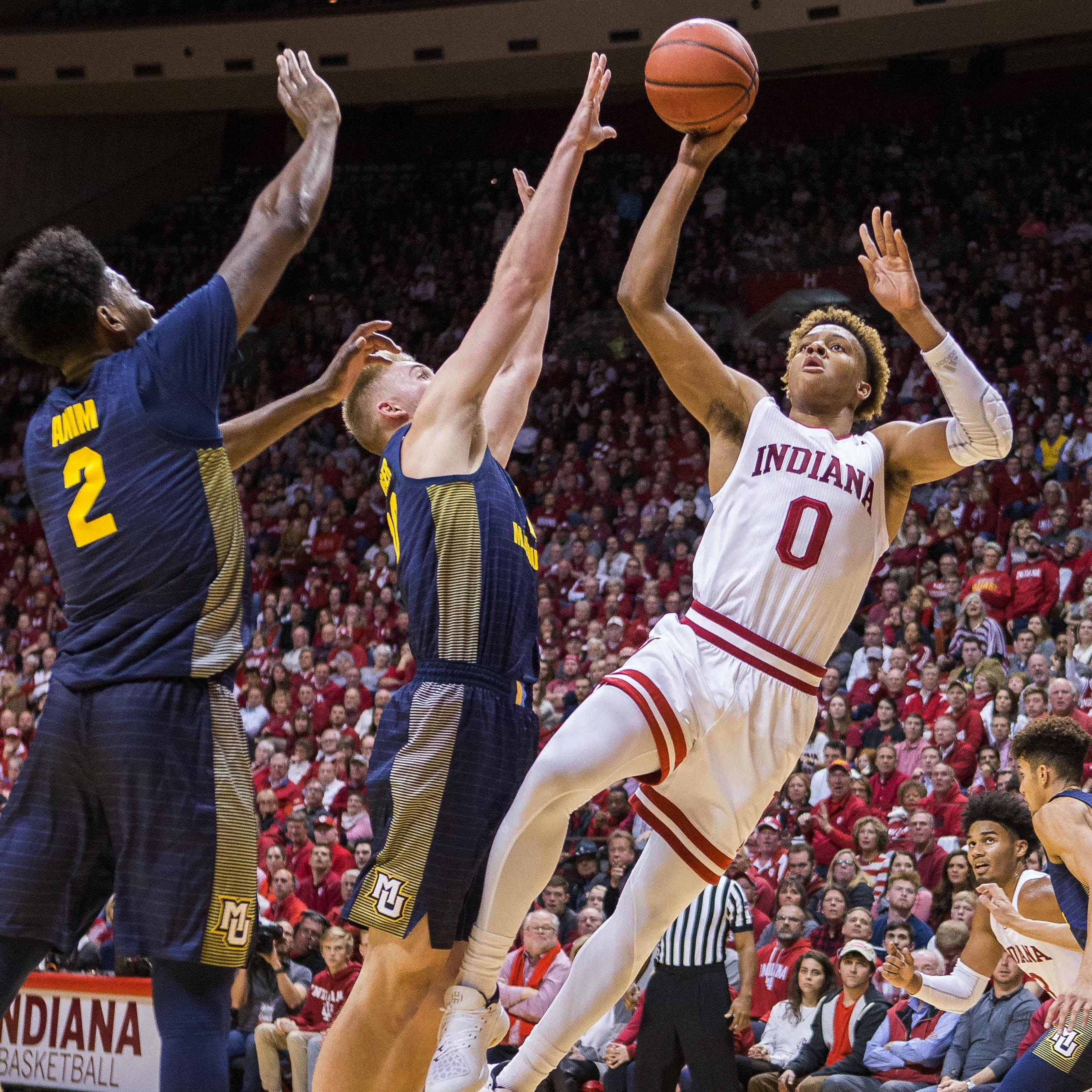 Indiana 96, Marquette 73: Golden Eagles are dominated from the start