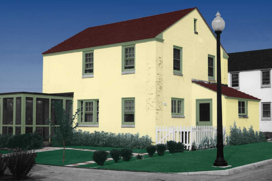 Greendale Original On Apple Court Colorized Original Pix